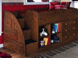 giường tầng đa năng cho trẻ