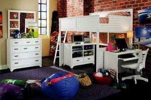 giường tầng đa năng cho trẻ em