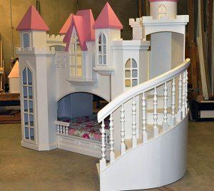 giường đa năng kiểu lâu đài