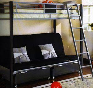 giường đa năng với nệm nhẹ