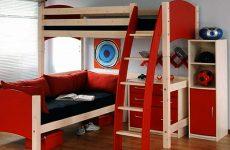 giường tầng đa năng sử dụng nệm nhẹ